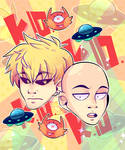 The Comedic Duo: One Punch-Line
