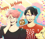 Happy Birthday Markiplier and Floating Megane!!!
