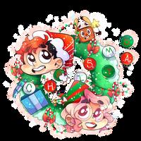 A Markimoo Christmas by DarkMagic-Sweetheart