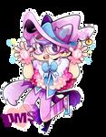 Pastel Cat Witch Patton