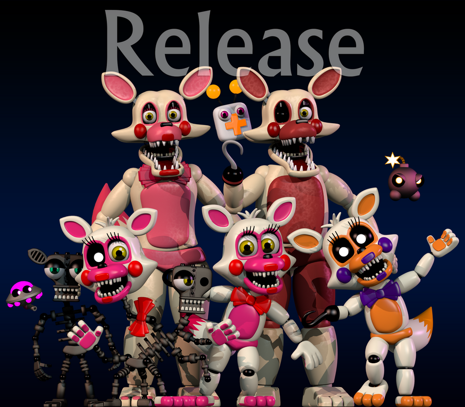 the plastic foxy's (release) by SupSorgi