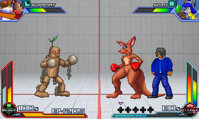My Project X Zone Gameplay Style