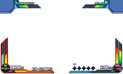 Project X Zone Gameplay Template Base