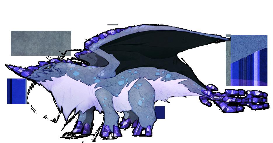 gem dragons benitoite by stormful on deviantart