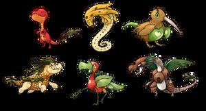 Fruit Monsters Designs CLOSED