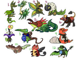 Themed Adoptables Plants OPEN (1 left)