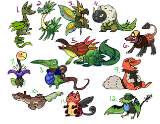 Themed Adoptables Plants OPEN (1 left) by Stormful