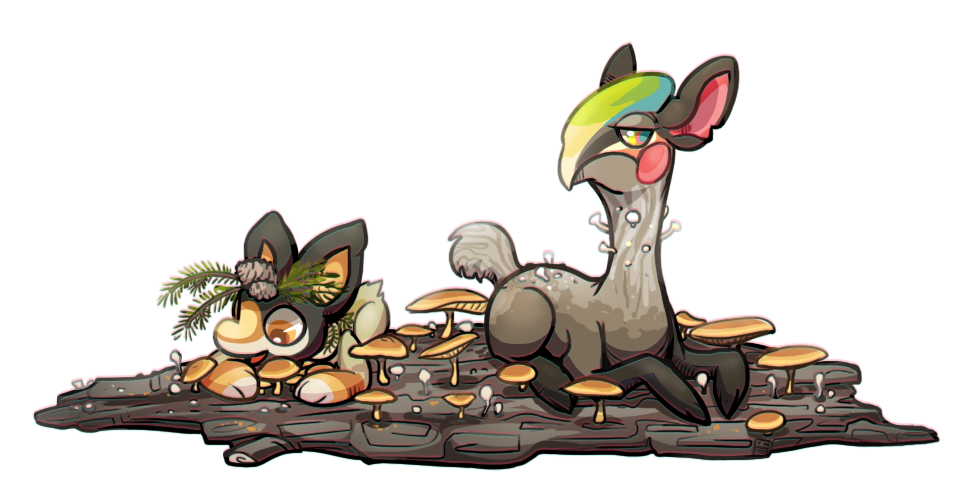Shrooms by Stormful