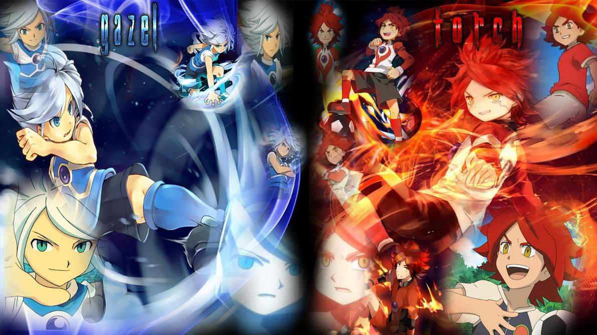 Inazuma Eleven Torch And Gazel Wallpaper by NexGenPlayer