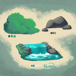Environment Doodles