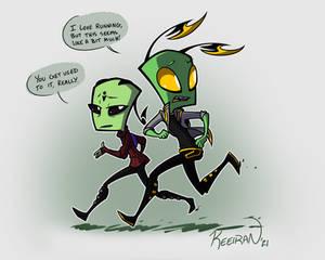 Run Boy Run- AT Zerna