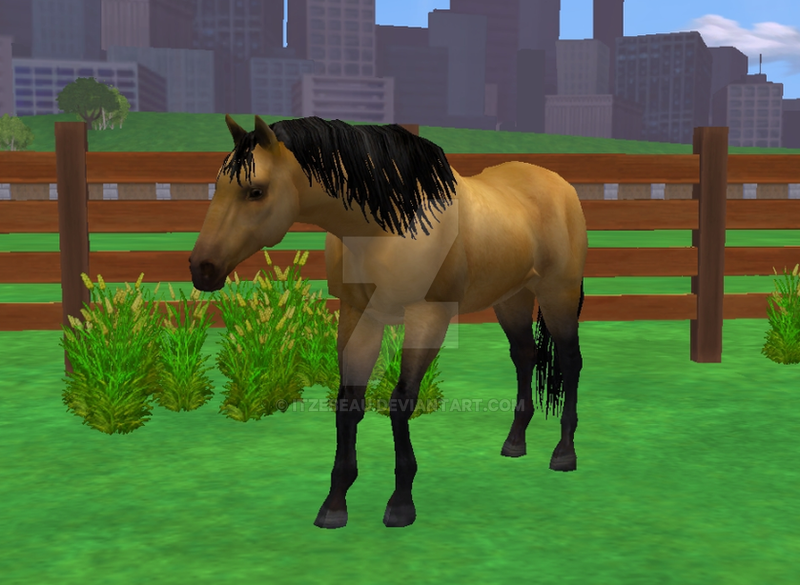 Zoo tycoon 2 horse Stop It by Itzebeau on DeviantArt