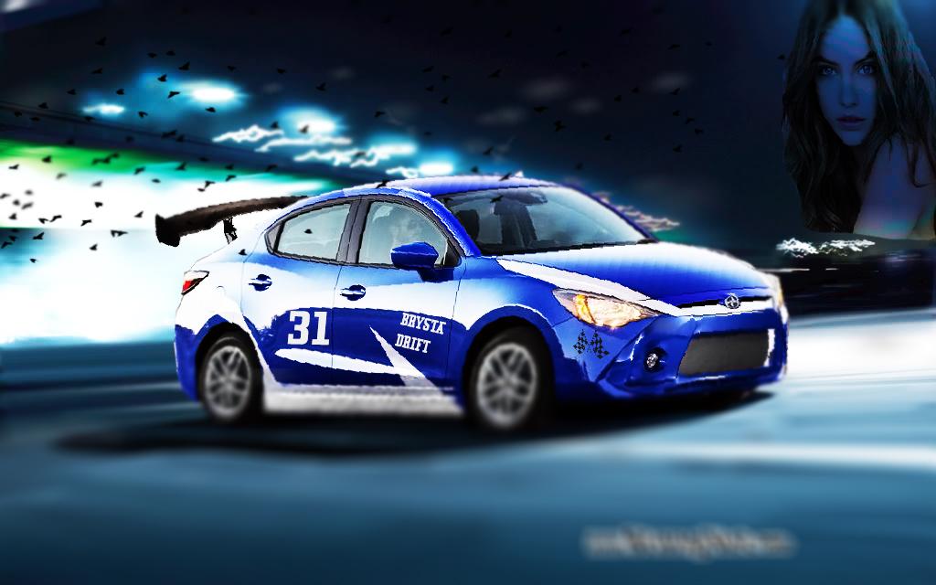 Toyota Yaris R Tuning Wallpaper By Brysta Drift Brystadrift