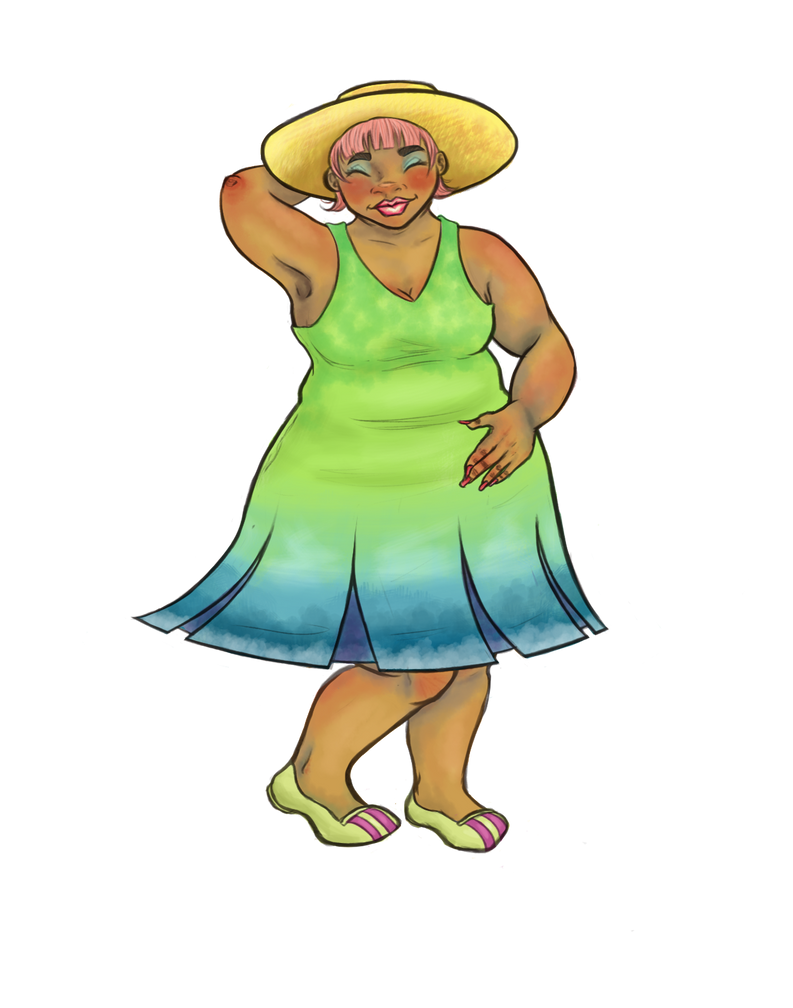 Summer Dress by Shauna-O-Connor