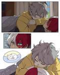 [BNHA] Napping Kitten