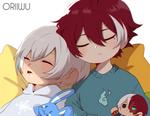 [BNHA OC] Reiichi and Atsushi