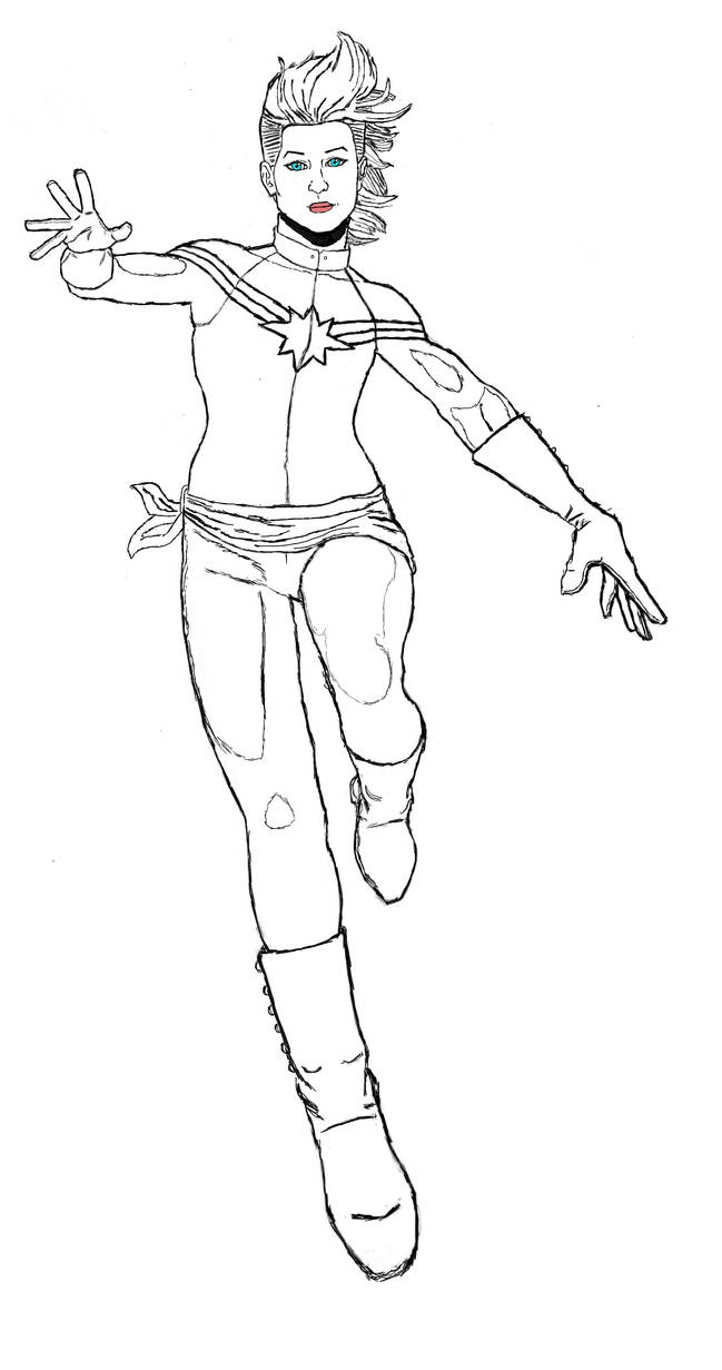 Captain Marvel (Carol Danvers of Marvel Comics)