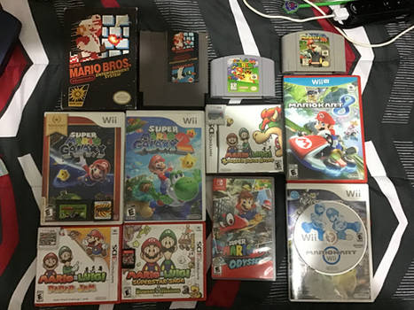 The Super Mario Game Collection 3/10/20