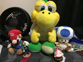 The Super Mario Plush N Amiibo Collection 3/10/20