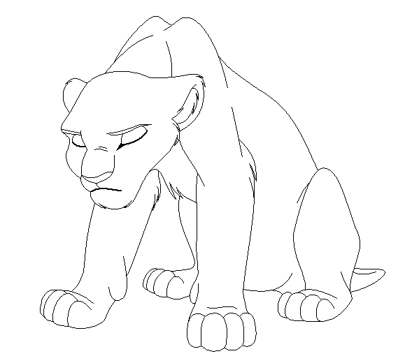 Dibujos Para Colorear De Encantada in addition Free Lion And Lioness Line Art 368331208 together with 180 in addition El Rey Leon En La Hamaca in addition Coloriage Le Roi Lion Simba. on nala drawing
