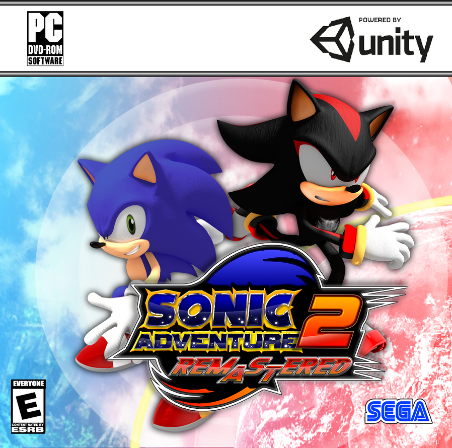 Sonic Adventure 2 Remastered Fan Cover by DanteTheGamerSG