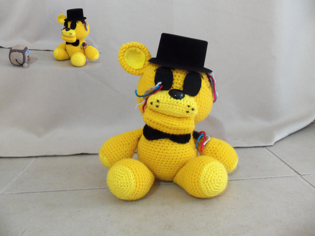 Fnaf withered golden freddy for sale by onlyifitsfluffy on