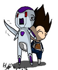 VegetaxFrieza ~ Where's Your Final Form Now! by OnlyIfItsFluffy