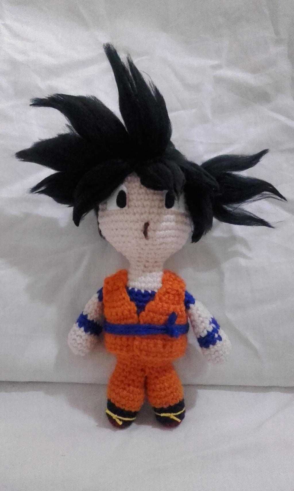 Goku amigurumi tutorial - YouTube | 1707x1024