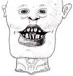 He's got teeth