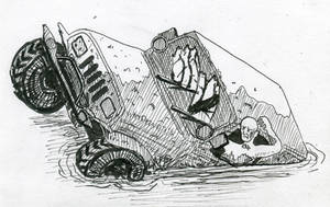Inktober 2018 - muddy