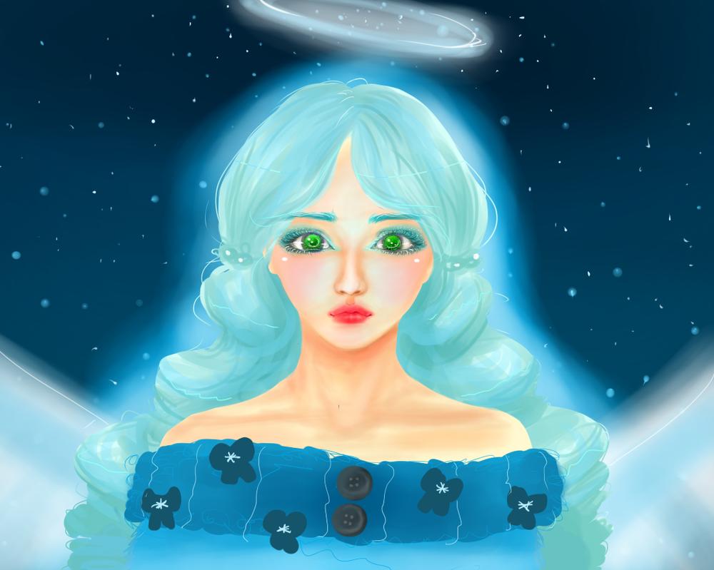 Blue Angel by manga-drawing-luver