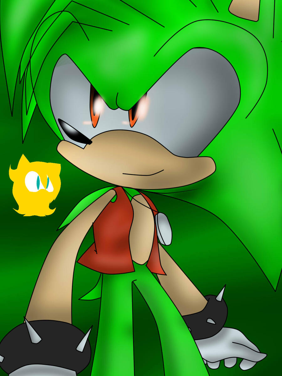 Manic The Hedgehog by AnaMariaTheHedgehog on DeviantArt