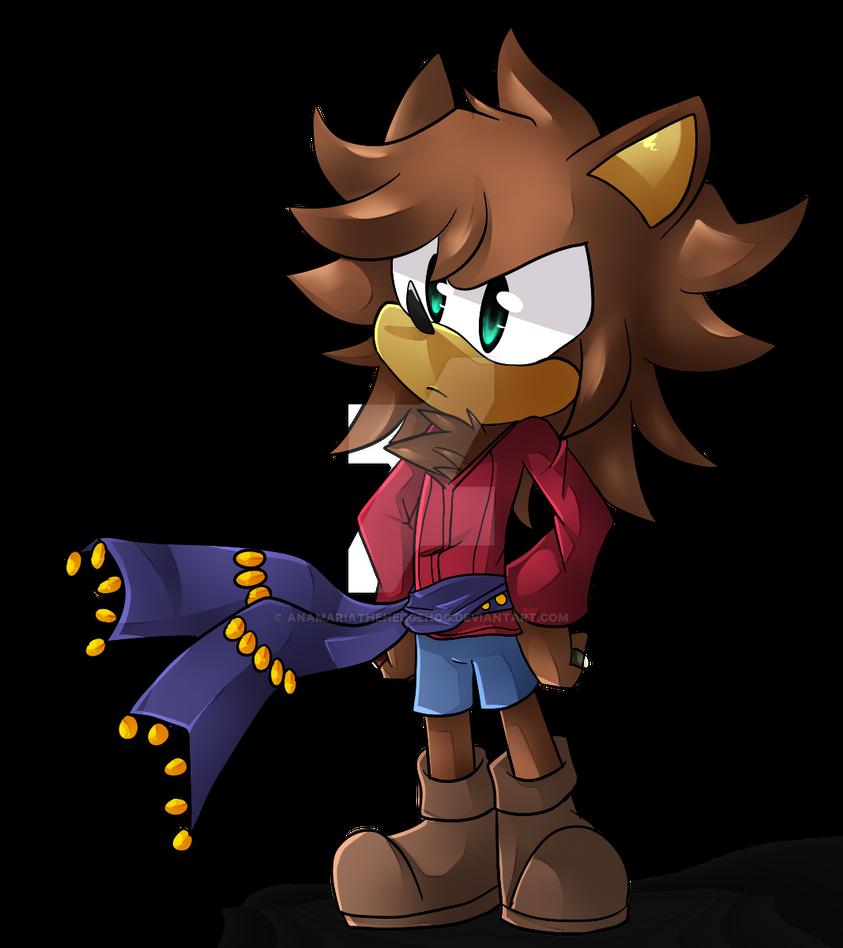 ..Gift:. Doug The Hedgehog by AnaMariaTheHedgehog
