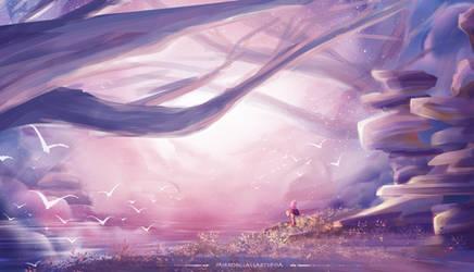 Lilac Verdancy by MirrorglassArts