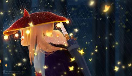 When It Rains by MirrorglassArts