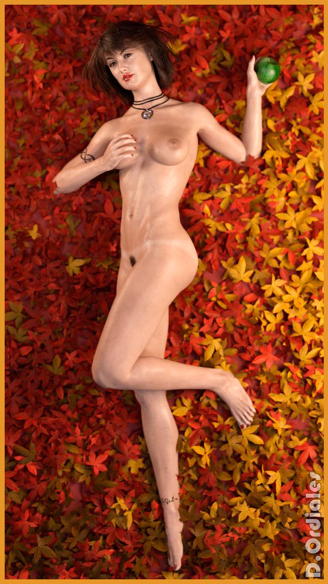 Blanca - Leaves 01 by DOrdiales