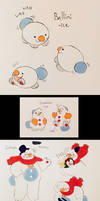 Fake Snowman Pokemon