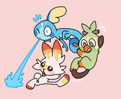 New Starters!! by NoneToon