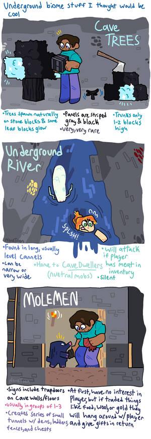Minecraft: Underground Biome Stuff