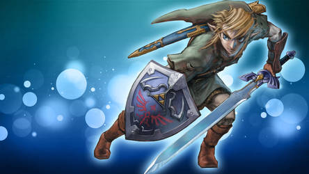 Link Wallpaper by BlueKissu