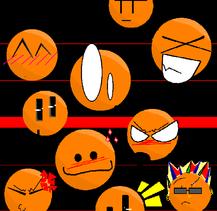 R a n d o m  S m i l i e s by oranjineko
