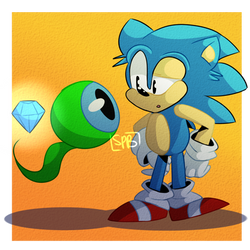 Hey Lil Buddy,How Did You Get That Emerald? by KaitoSprxngy