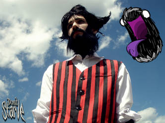 Don't Starve - Wilson cosplay by Star-ko