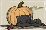 Happy Halloween Cat by unperfections