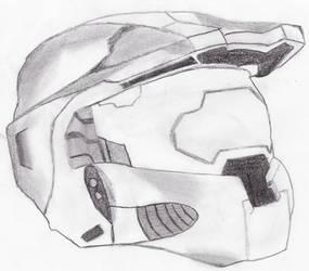 master chief helmet by oktar17