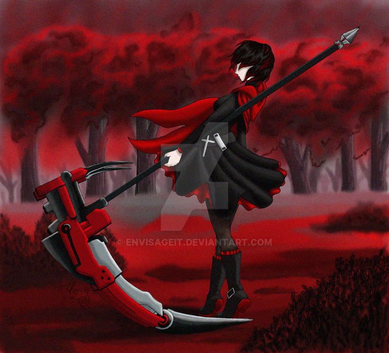 RWBY Ruby by EnvisageIt