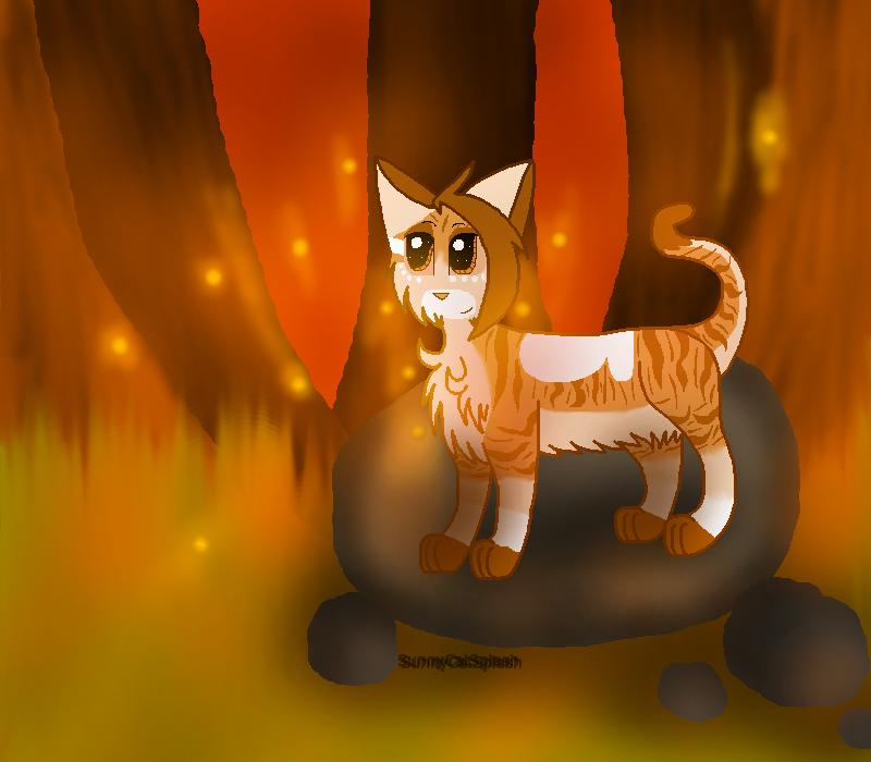 I Was Struck By The Light :PC: Tuna-Kitty by SunnyCatSplash