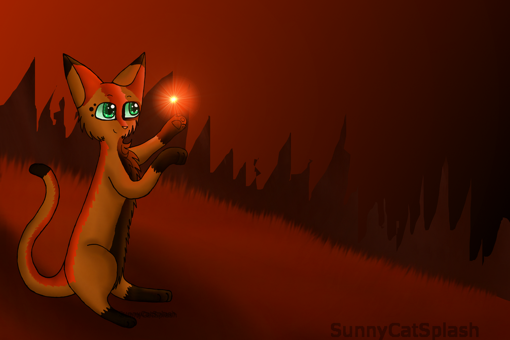 Art Trade With GamerKitty101 by SunnyCatSplash