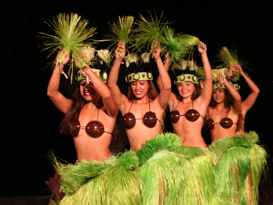 <b>Hula Dancer</b> Performs By Ocean Waves, Slow Motion Stock Footage ...