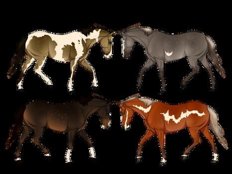 25 Point horses OPEN (1/4)